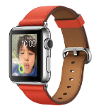 """Apple Watch 1.32"""" OLED 40g Stainless steel smartwatch"""