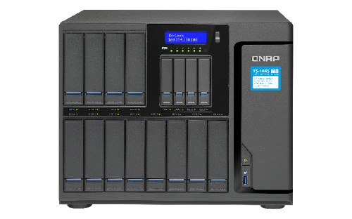 QNAP TS-1685 Ethernet LAN Desktop Black NAS