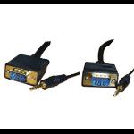 Videk 2129A-2 VGA cable 2 m Black