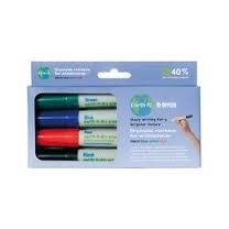 Bi-Office PE2206 marker 4 pc(s) Black, Blue, Green, Red