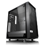 Fractal Design Meshify C – TG Midi Tower Black, Transparent