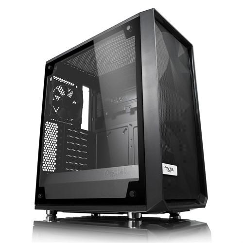 Fractal Design Meshify C – TG Midi Tower Black, Transparent