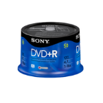 Sony DVD+R 16x, 50 4.7 GB 50 pc(s)