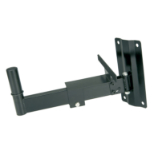 Qtx 129.098UK Wall Black speaker mount