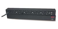 APC Basic Rack 1.8kVA unidad de distribución de energía (PDU) Negro