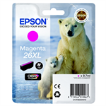 Epson C13T26334012 (26XL) Ink cartridge magenta, 700 pages, 10ml