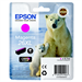 Epson C13T26334010 (26XL) Ink cartridge magenta, 700 pages, 10ml
