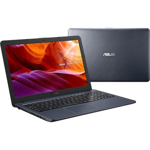 """ASUS A543UA-DM1865T Grijs Notebook 39,6 cm (15.6"""") 1920 x 1080 Pixels Zevende generatie Intel® Core™ i3 i3-7020U 4 GB 128 GB SSD"""