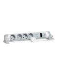 C2G Legrand 4AC outlet(s) 1.5m Grey,White surge protector