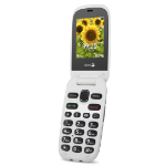 "Doro PhoneEasy 6030 6.1 cm (2.4"") 94 g Grey,White Entry-level phone"