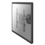 "Newstar TV/Monitor Wall Mount (2 pivots & tiltable) for 10""-40"" Screen - Silver"