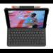 Logitech Slim Folio teclado para móvil QWERTY Inglés del Reino Unido Grafito Bluetooth