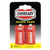 Eveready SUPER SIZE C PK2 R14B2UP