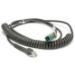 Zebra CBA-U28-C15ZBR accesorio para dispositivo de mano Cable de carga Negro