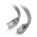C2G Cable de conexión de red Cat6 UTP LSZH 3 m - Gris