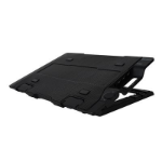 "Zalman ZM-NS2000 notebook cooling pad 43.2 cm (17"") Black"