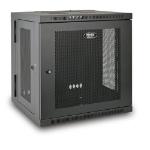 Tripp Lite SRW12US SmartRack 12U Low-Profile Switch-Depth Wall-Mount Small Rack Enclosure, Hinged Back