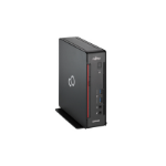 Fujitsu ESPRIMO Q558 i3-9100 mini PC 9th gen Intel® Core™ i3 4 GB DDR4-SDRAM 256 GB SSD Windows 10 Pro Black