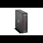 Fujitsu ESPRIMO Q558 i3-9100 mini PC 9th gen Intel® Core™ i3 4 GB DDR4-SDRAM 256 GB SSD Windows 10 Pro Black