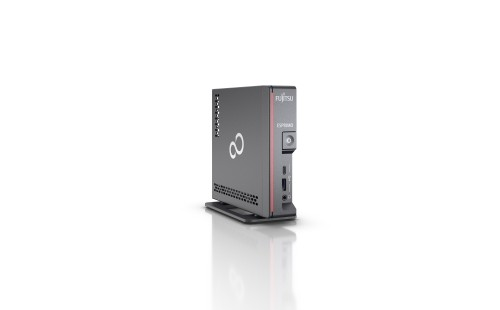 Fujitsu ESPRIMO G5010 DDR4-SDRAM i3-10100 mini PC 10th gen Intel® Core™ i3 8 GB 256 GB SSD Windows 10 Pro Black