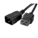 StarTech.com Standard Power Cord 1.8m C20 coupler Black power cable