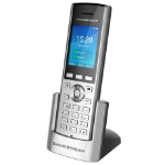 Grandstream Networks WP820 IP phone Black, Silver Wireless handset LCD 2 lines Wi-Fi
