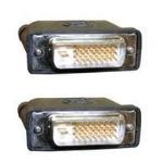 Microconnect DVI-D (DL) 15m DVI-D DVI-D (DL) Black cable interface/gender adapter