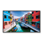 "NEC V463 Digital signage flat panel 46"" Full HD Negro signage display dir"