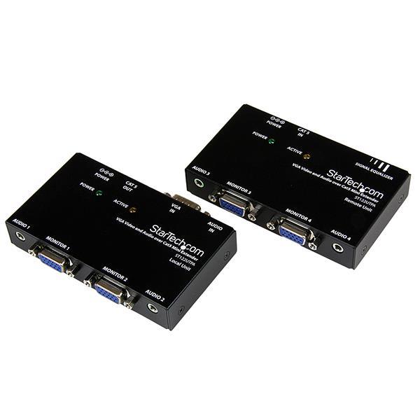 StarTech.com VGA Video Verlenger via Cat5 met Audio