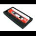 Sandberg Cover iPhone 5/5S retrotape Black