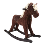 LEGLER Small Foot Children's Wooden Gallop Rocking Horse Toy, Unisex, Three Years and Above, Brown (10285)