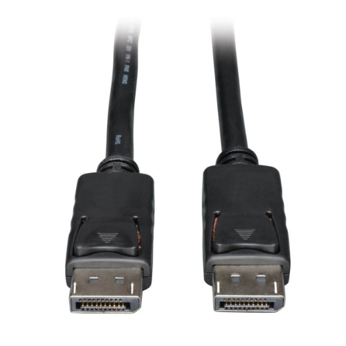 Tripp Lite DisplayPort 1.2 Digital Video and Audio Cable with Latches (M/M), 4K x 2K, 3840 x 2160 - 4.57 m