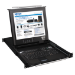 Tripp Lite NetDirector 16-Port 1U Rack-Mount Console KVM Switch with 17-in. LCD and IP Remote Access