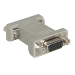C2G HD15 VGA Changer VGA (D-Sub) VGA (D-Sub) Grey cable interface/gender adapter