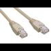 MCL Cable RJ45 Cat6 5.0 m Grey cable de red 5 m Gris