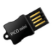 Super Talent Technology 16GB Pico Mini 16GB USB 2.0 Type-A Black USB flash drive