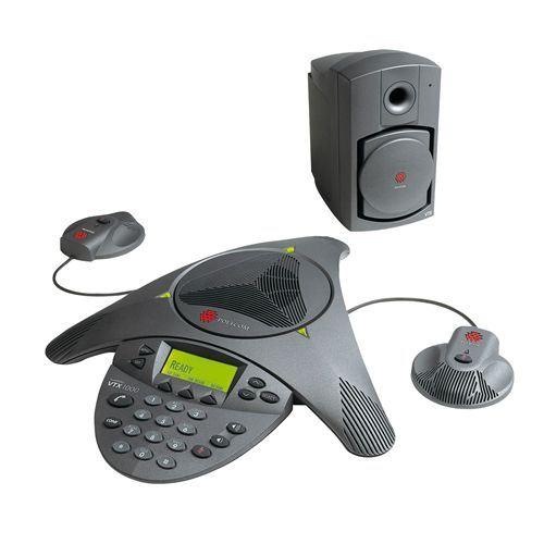 Polycom SoundStation VTX1000 Conference Unit - Black (2200-07300-102)