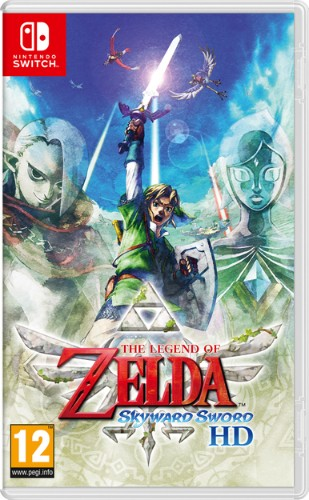 Nintendo The Legend of Zelda: Skyward Sword HD Basic Simplified Chinese, Traditional Chinese, German, Dutch, English, Spanish, French, Italian, Korean, Russian Nintendo Switch