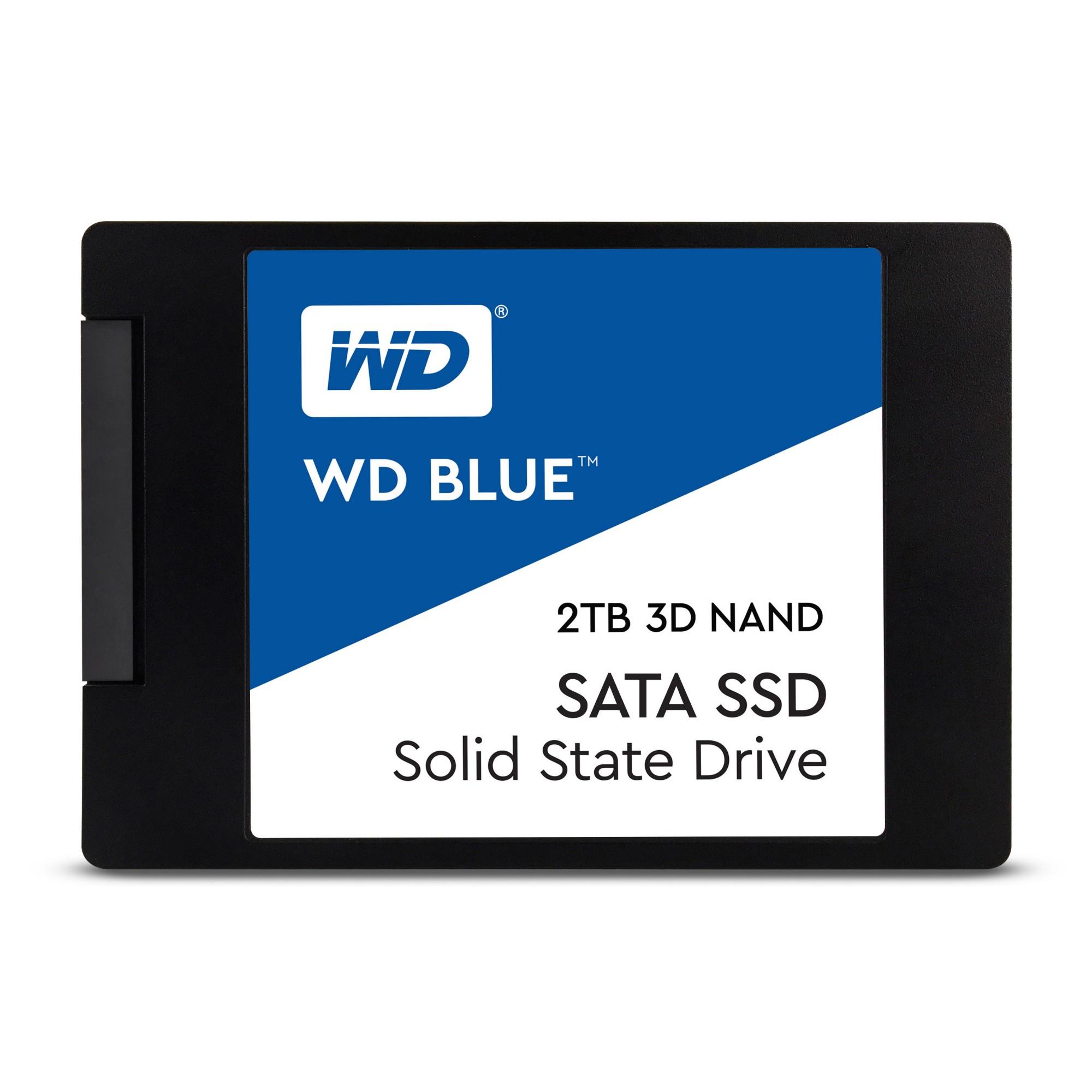 "Western Digital Blue 3D 2048 GB Serial ATA III 2.5"""