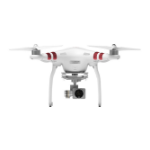 DJI Phantom 3 Standard 4rotors 12MP 2704 x 1520pixels 4480mAh White camera drone