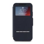 "Moshi SenseCover mobile phone case 15.5 cm (6.1"") Folio Blue"
