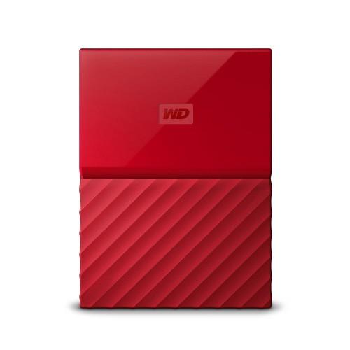 Western Digital My Passport external hard drive 2000 GB Red