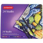 DERWENT STUDIO PENCILS 3.5MM TIN 24