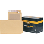 New Guardian Envelopes Heavyweight Board Backed Peel and Seal Manilla C4 [Pack 125]