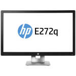 "HP EliteDisplay E272q 27"" Wide Quad HD IPS Matt Black,Silver"