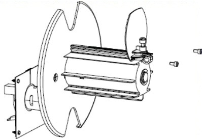 Zebra P1058930-058 printer/scanner spare part Spindle Label printer