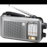Sangean MMR-77 Portable Analog Black,Silver radio
