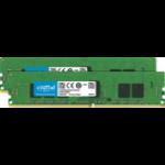 Crucial 8GB (2 x 4GB) DDR4-2666 RDIMM 8GB DDR4 2666MHz ECC memory module