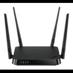 D-Link AC1200 router inalámbrico Gigabit Ethernet Doble banda (2,4 GHz / 5 GHz) Negro