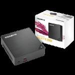 Gigabyte BRIX i7-8550u, 2 x DIMM DDR4, 2 x USB3.1, 2x USB3.0, 1 x HDMI, 1 x Mini DP, 1 x RJ45, 1x DC